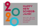 Schreibjahresplanung 2020. Was, wie, wo und wie viel wir 2020 schreiben wollen