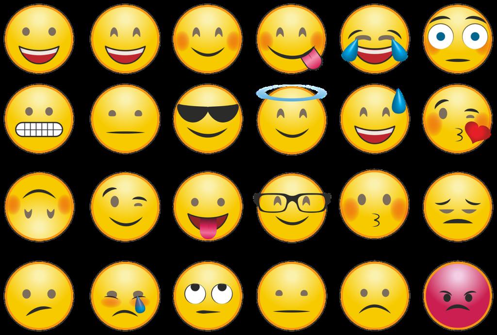Emojis Gefühle