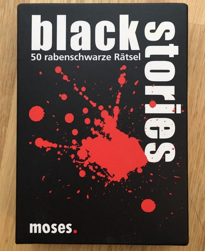 Black Stories Karten für spielendes Erzählen