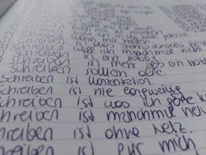 Schreiben ist für mich - Schreibimpuls von Treffpunkt Schreiben