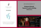 Treffpunktschreiben Erfahrungsbericht Margaret Atwood Teaches Creative Writing